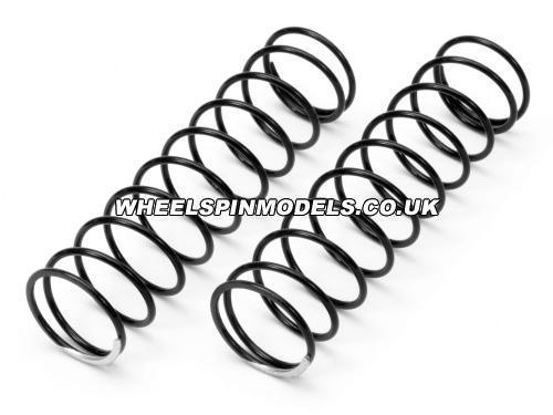 Shock Spring - Silver 18x80x1.5mm - 10.5 Coils - 5.5Lbf/In - 89Gf/mm (Pk 2)