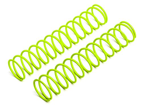 Soft Shock Springs - Yellow - Front - fits HPI Baja 5B