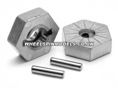 Hex Wheel Hub 17mm (Silver) Savage X