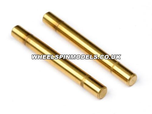 Titanium Nitride Suspension Shaft 3 x 27mm (2 Pcs.)