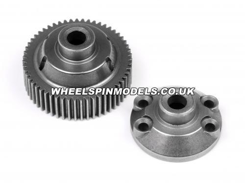 55 Tooth Drive Gear - Differential Case Set - Sintered Metal