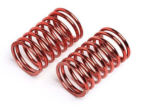 Shock Spring 13.8X27X1.5mm 8.5Coils (Metallic Red) Nitro Rs4 3 Drift