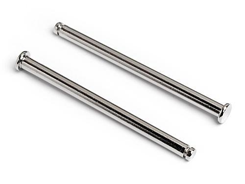 Flange Shaft 3X45mm (Silver) Nitro Rs4 3 Drift