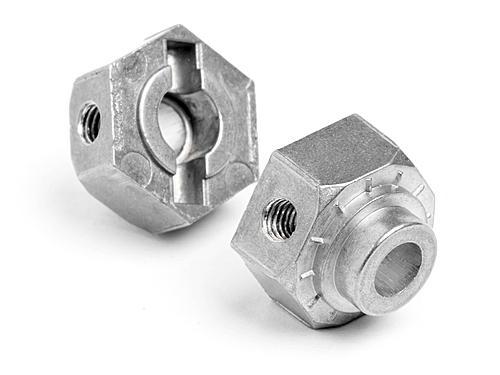 Aluminium Locking Wheel Hex - E-Firestorm (4pcs)
