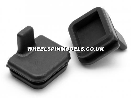 Rubber Cap 10x11mm (Black) Savage X