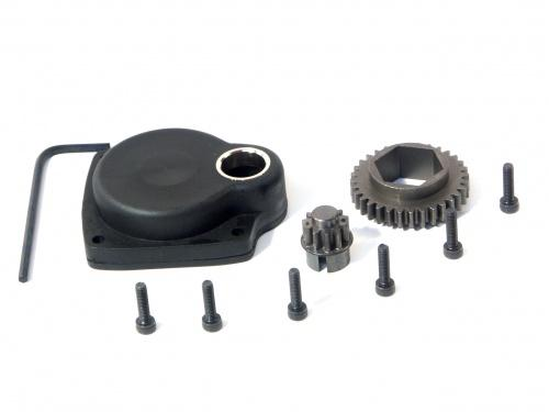 Back Plate Gears, Casing & Screws For HPI T Series Engines