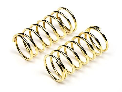 Shock Spring 11x28x1.1mm, 8 Coils, Gold (2Pcs) (Cup Racer 1M)