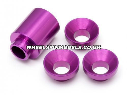 Collar Set C Bell Holder Baja (Purple)