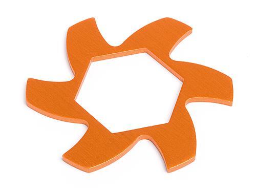 Brake Disc Fin Plate - Orange - HPI Baja