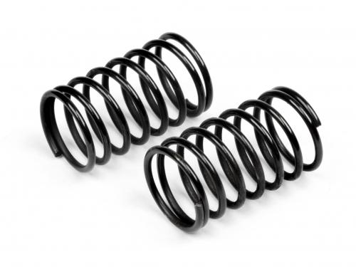 Shock Spring Black 8 Coils 14x29x1.4mm E10 (2pcs)