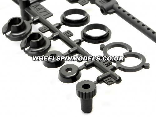 Shock Parts Set (N2) (RTR Nitro RS4/Nitro2)