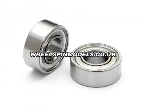 Ball Bearing 6x13x5 (2 pr) Steel Shielded