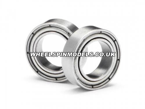 Ball Bearing 6x10x3mm Steel Shielded (2Pcs)