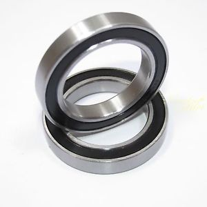 Ball Bearing 10x15x4mm Rubber Shielded (2Pcs)