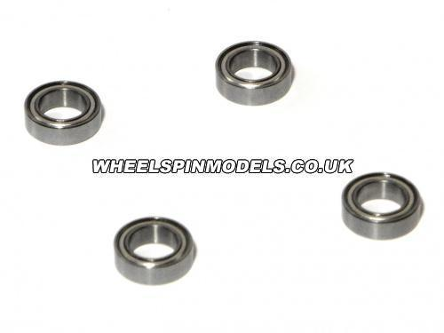 Ball Races Savage Steering (4 Pcs) 6 x 10 x 3 Steel Shielded