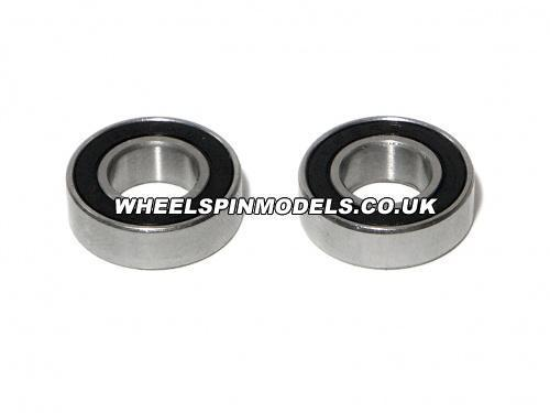 Ball Bearing 8x16x5mm (2pcs) Rubber Shielded