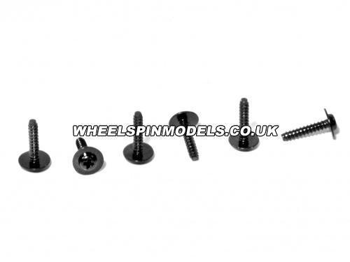 Flanged Screw M2.6x12mm (6Pcs)