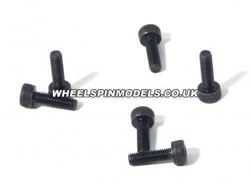 Cap Head Screw M3x10mm (2.5mm hex socket/6Pcs)
