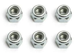HPI M3 NyLock Nuts - Pack of 6