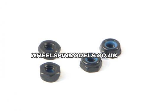 Lock Nut M3 Thin Type (4Pcs)