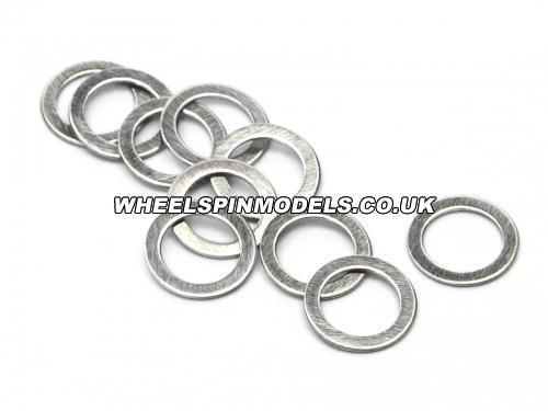 Washer 4x6x0.3mm (Silver)