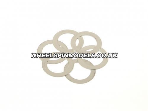 Washer 12x18x0.2mm (6Pcs)