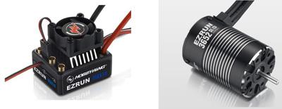 Hobbywing MAX10 ESC Combo With 3652Sl 5400Kv Brushless Motor