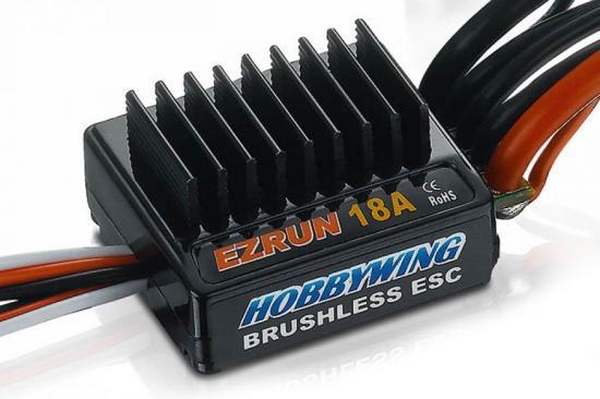 Hobbywing EZRUN 18A Micro ESC Combo With 7800kv Motor