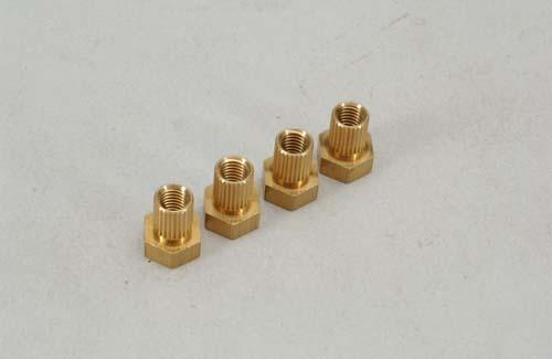 1/4BSF Dyco Coupling Insert (Bx4) - Bulk Pack Of 4