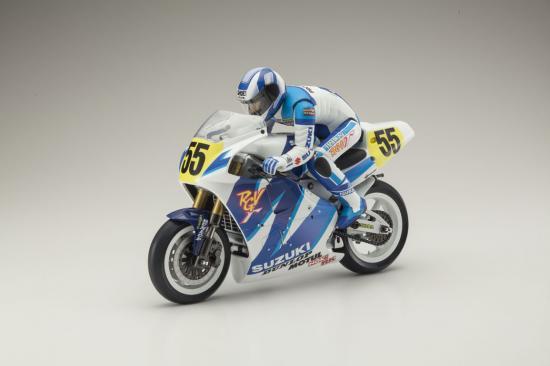 Kyosho Moto Hanging On Racer Biker - Suzuki 1992 Kit
