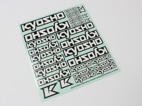 Kyosho Logo Decal Sheet - 235x210mm