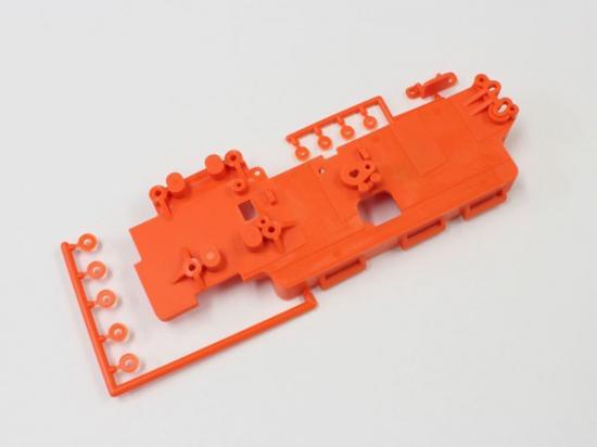 Kyosho Battery Tray Set Inferno Ve - Fluo Orange
