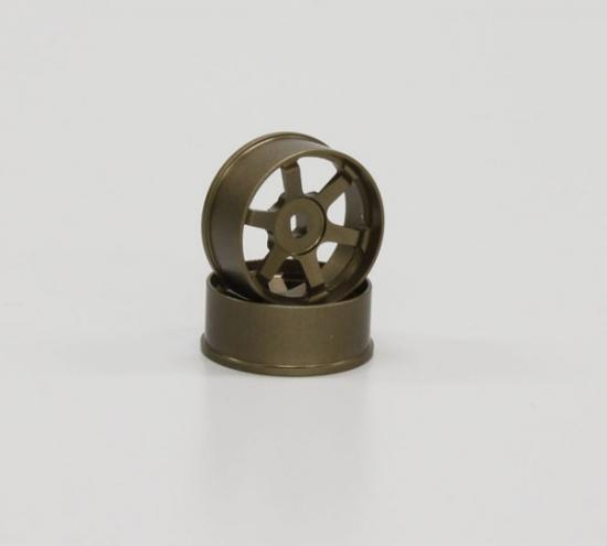 Kyosho Te37 Wheels Narrow 1.5 Offset Bronze (2)