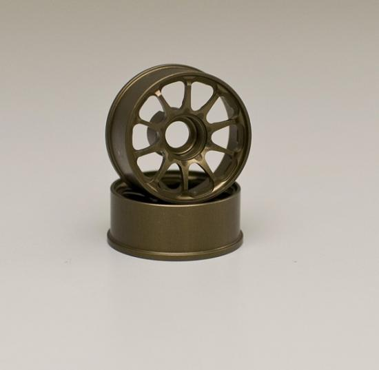 Kyosho Ce28N Wheels Narrow 0 Offset Bronze (2)