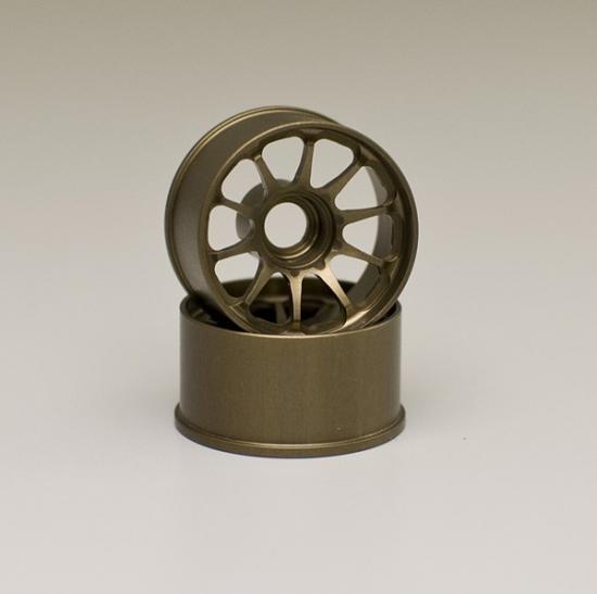 Kyosho Ce28N Wheels Wide 0 Offset Bronze