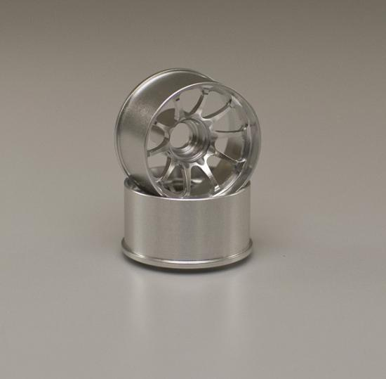 Kyosho Ce28N Wheels Wide 1.0 Offset Silver