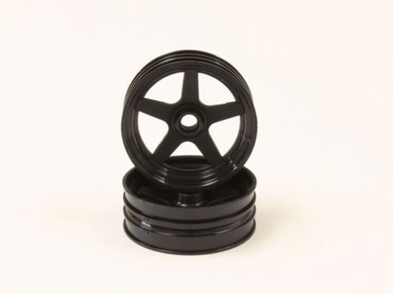 Kyosho Front Wheel (2) Beetle 2014 - Black