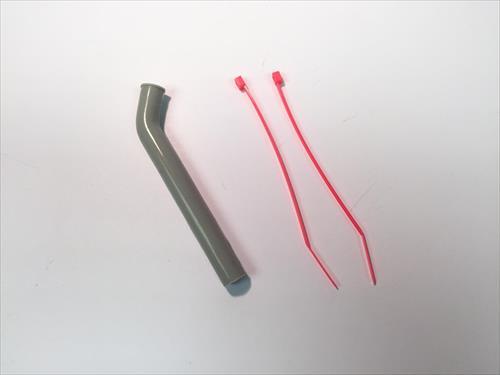 Silicone Exhaust Stub (20-40) 45 Deg