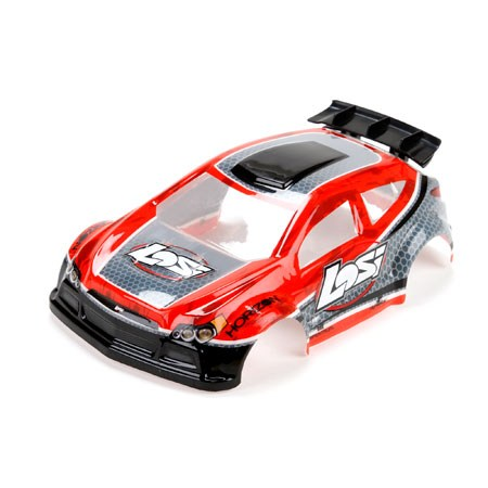 1/24 4WD Micro Rally X Painted Body Red