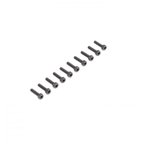 Cap Head Screws M2.5 x 10mm (10)