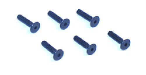 4.40x1/2 Flat Head Socket Screw (6)