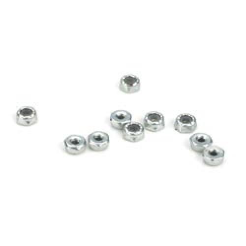 JRXS 4-40 Steel Locking 1/2 Nuts (10)