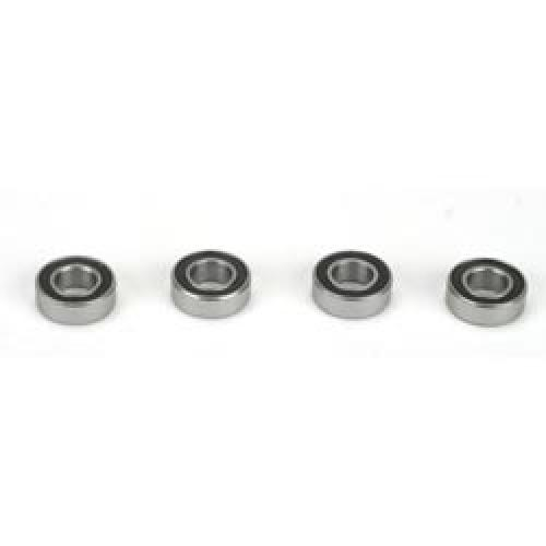 6x12x4mm Rubber Sealed Ball Bearings (4)