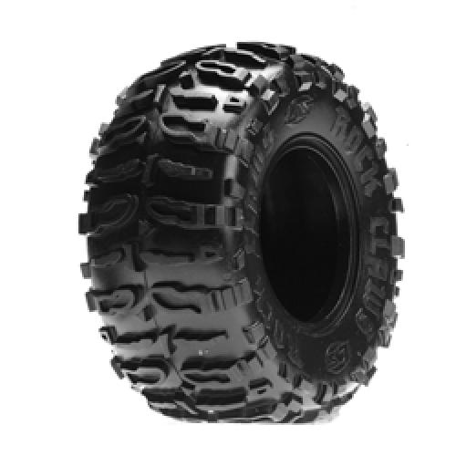 Rock Crawler Front/Rear Rock Claws 2.2 Blue Tyres & Liners (2)