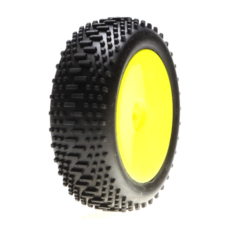 Mini 8ight Mounted Front Mini King Pin Wheels and Tyres