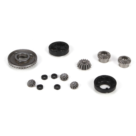 Mini 8ight Front and Rear Diff Gear - Housing and Spacer Set