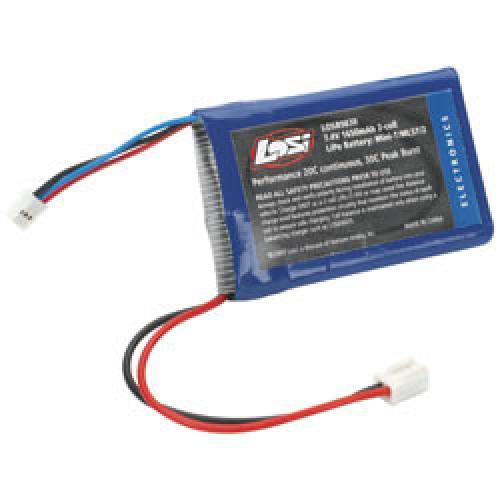 Mini-T/Mini LST/Mini LST2 Losi 7.4volt 1650Mah 2S Li-Po Pack ** CLEARANCE **