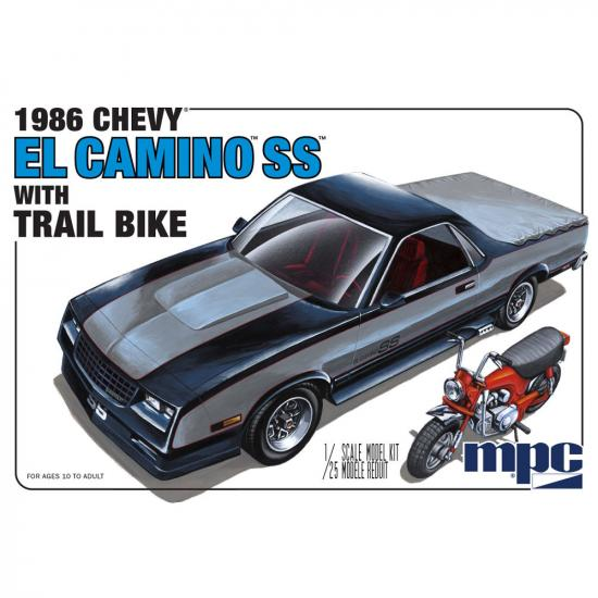 MPC 1986 Chevy El Camino SS with Dirt Bike