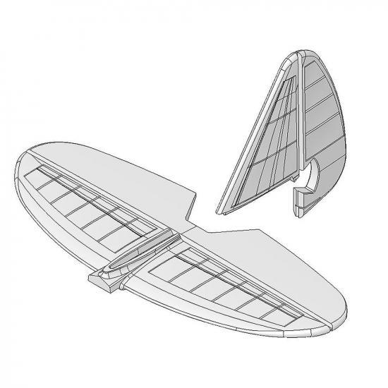 Multiplex Tail Set Easycub / Funcub 224140