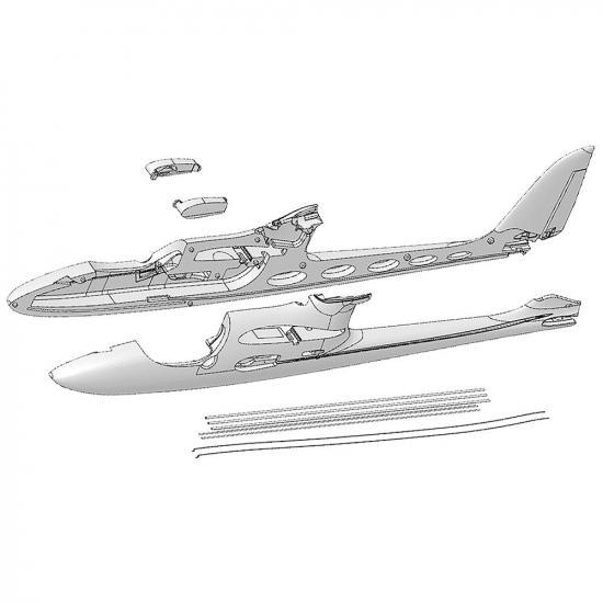 Multiplex Fuselage Shells + Snakes Easystar II 224239